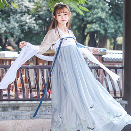 a0f9e484f Chinese Cosplay Costumes NZ - 2018 summer womens chinese traditional costume  hanfu dresses clothing tang ancient