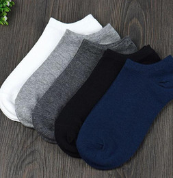 mesh gym shorts men Canada - 5Pair Lot Brand Cotton Socks Men Basketball Football Sport Socks White Athletic Outdoor Men's Mesh Short Boat Cycling Gym Socks Women