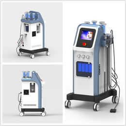 Wholesale 7 in Israel technology bar oxygen jet peel water dermabrasion hydra facial microcurrent hydradermabrasion oxgen injector spa machine