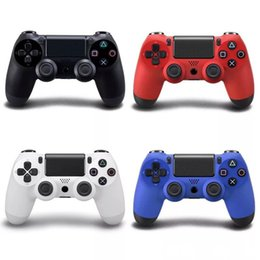 Ps4 Wireless NZ - Wireless Bluetooth ps4 controller Game Controller for PlayStation 4 PS4 Joystick for Android Video computer Games 4 colors