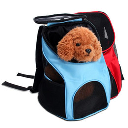 Chinese  Breathable Mesh Nylon Pet Dog Cat Bag Dog Carriage Tote Luggage Shoulder Bag Traveling Portable Bag Backpack Convenient Chihuahua manufacturers