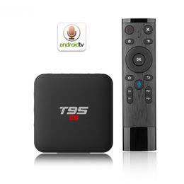 Smart tv box remote online shopping - T95 S1 Android TV BOX GB GB Amlogic S905W Quad Core GHz WiFi Media Player Smart Box Voice Remote Control