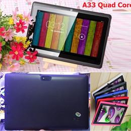 $enCountryForm.capitalKeyWord Australia - 2018NEW Q8 7 inch tablet PC A33 Quad Core Allwinner Android 4.4 KitKat Capacitive 1.5GHz 512MB RAM 8GB ROM WIFI Dual Camera Flashlight Q88