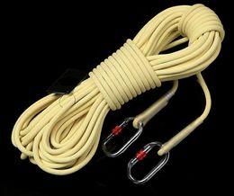892dc00cb Xinda (P) Kevlar corda estática de alta temperatura flama retardante de  escape corda de segurança resistente ao desgaste de aramida rapel caverna  corda de ...
