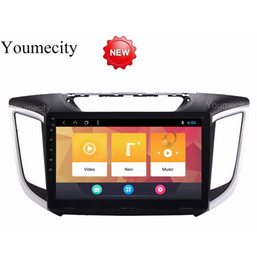 Car Console Dvd Australia - Youmecity Android 8.1 Car DVD For Hyundai IX25 Creta 2014-2018 year GPS Radio Video Multimedia Player Capacitive IPS Screen RDS