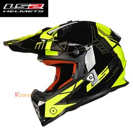 $enCountryForm.capitalKeyWord NZ - 100% original LS2 MX437 atv dirtbike cross motorcycle helmet Motocross racing off-road moto helmet ECE approved capacste casco