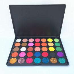 $enCountryForm.capitalKeyWord NZ - 2018 High Pigment Makeup 35 Color Glitter eyeshadow Palette Pressed Powder Matte Shimmer Eyeshadow Palette Eye Shadow Makeup Palettes