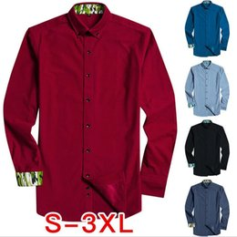 6f96bf5a2b New Arrival Mens Long Sleeve Flannel Turn-down Collar Shirt Solid Smart  Casual Shirts Male Social Business Shirt