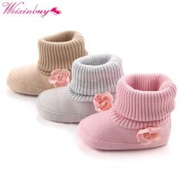 $enCountryForm.capitalKeyWord NZ - Children's Winter Warm Shoes Cots Carriages Baby First Walkers Kids Newborn Toddler Super Warm Up Flower Boots