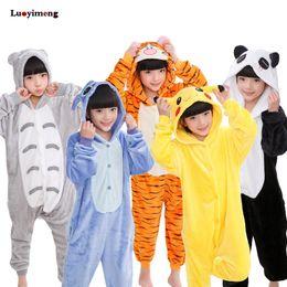 58ecd640aa Kids Unicorn Pajamas Onesie Panda Children Animal Sleepwear Kigurumi Winter  Anime Pyjama For Girls Boys Sleepers Blanket Licorne