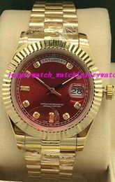 Brand Luxury Style Watch Australia - Luxury Watches 3 Style Fluted Bezel II 218238 Diamond Dial 41mm Automatic Fashion Brand Men's Watch Wristwatch