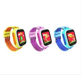 Quad Band Smart Watch Australia - Q523 Kids Smart Watch Phone Security Monitor Anti-lost SOS Children GPS Wrist Watch Phone GSM Unlocked Quad-band