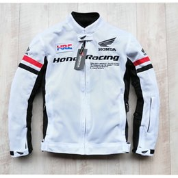 2018 Nuevo modelo de verano transpirable oxford moto chaquetas off-road paseo chaquetas ropa de carreras a prueba de viento tienen protección 3 colores