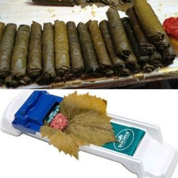 sushi rolling machine Canada - New Vegetable Rolling Tool Dolmer Magic Roller Stuffed Garpe Cabbage Leave Grape Leaf Machine Moedor De Carne