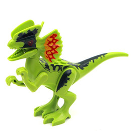 $enCountryForm.capitalKeyWord UK - 8pcs Set Super Heroes Jurassic World Dinosaurs Tanystropheus Tyrannosaurus Rex Building Block Action Toys Children Toys
