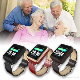 Smart Watches For Windows Australia - New Arrival W30S Old Health Smart Heart Rate Watch Waterproof GPS Triple Locations SOS One Button Seeking Help Sport Watch gift for old