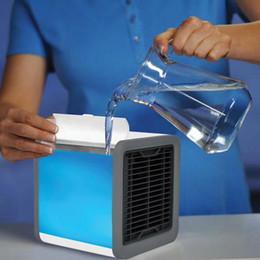 Venta al por mayor de MINI Home Aire Acondicionado Aire Enfriador portátil Oficina Coche Espacio personal Ventilador de aire fresco