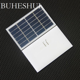 Wholesale glasses companies online – design BUHESHUI Watt V Solar Cell Glass Laminated Polycrystalline Solar Panel Module DIY Solar Charger MM