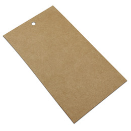 Phone Packaging Box Paper UK - DHL 350Pcs lot 9x16.5cm Borwn Kraft Paper Mobile Film Packaging Box with Hang Hole for Cell Phone Screen Protector Packing