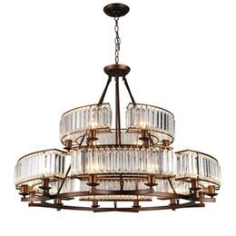$enCountryForm.capitalKeyWord NZ - Crystal chandeliers living room bedroom bronze pendant lamps retro minimalist country restaurant lights classic led pendant chandelier