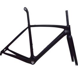 T1000 Full carbone vélo de course vélo de route cadre avec logo de marque disponible Mécanique légère di2 BSA / BB30 / PF30
