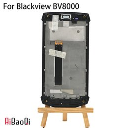 New Original 5.0 inch Touch Screen+1920x1080 LCD Display+Frame Assembly Replacement For Blackview BV8000 BV8000 Pro Android 7.0 from i535 screen suppliers