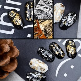 $enCountryForm.capitalKeyWord Australia - 2018 Big Sale Foil Paper Glitter Sticker UV Nail Art Gel Polish Design Nail Products Tools for Decoration DIY