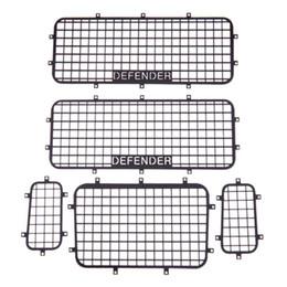 Parts Canada - 5pcs set Metal Window Mesh Protective Net for 1 10 RC Crawler Car Traxxas TRX-4 Upgrade Parts