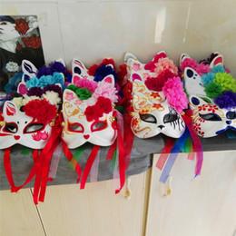 $enCountryForm.capitalKeyWord Canada - Cat Fox mask Cosplay PVC Halloween Christmas kids adult Party Costumes Mask