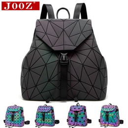 ... Luminous Backpack stitching Lattice Bag Men Women Backpack for Travel  girl School Bag for Students Backpack  2016 New ... d5e1682379416