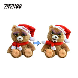 soft toys movies Australia - YNYNOO New Feisty Pets Change Face Funny Expression Animal Dolls Stuffed Plush Toys For Kids Cute Soft Cotton Christmas Gift