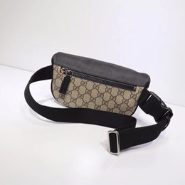 Chinese  Top quality waist bags for men designer belt bags real leather men brand bag #450946 23*11.4*7.6cm manufacturers