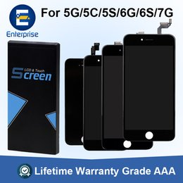 Chinese  A+++ Quality Best Price For iPhone 6 6S 7 Plus LCD Display Screen Digitizer Touch Screen For iPhone 5 5C 5S SE Pre-installed 4 Small Parts manufacturers