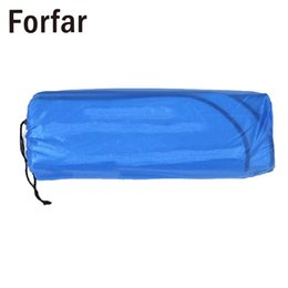 Wholesale Outdoor Sleeping Mat Camping Blanket Foldable Picnic Hiking Adiabatic Picnic Pads Aluminum Film EVA Silver Camping
