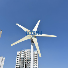 Conscience recommended! NEW ! 300W 12V 24V wind turbine with 3 5 blade horizontal axis, factory direct! on Sale