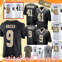 9 Drew Brees New Orleans Saints 41 Alvin Kamara Jersey 13 Michael Thomas 23  Marshon Lattimore Mens stitched Football Jerseys c236c1e68