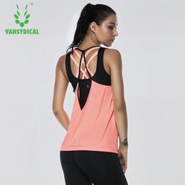 0d5319ca75dc51 gym wear sexy women 2019 - Yoga Tops women Sexy Gym Sports Vest Fitness  Running woman