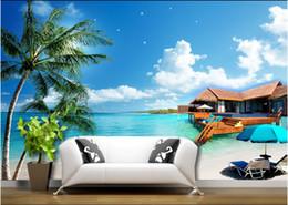Beach Wallpaper Home Australia Featured 3d Room Cloth Custom Photo