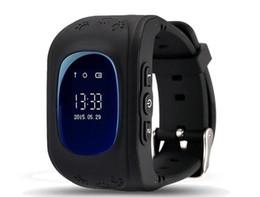 Quad Band Smart Watch Australia - Kids GPS Tracker Children Smart Watch Phone SIM Quad Band GSM Safe SOS Call PK Q80 Q90 Smartwatch For Android IOS