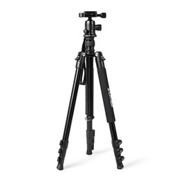 Aluminum Tripods Australia - Zomei Q555 Aluminum Alloy Portable Camera Tripod 360 Degree Horizontal Rotating