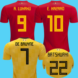Belgium soccer jerseys online shopping - 2018 Belgium away soccer jerseys  De Bruyne LUKAKU world cup 7a081c0c3