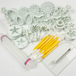 $enCountryForm.capitalKeyWord Australia - 46 Pcs Cake Decorating Tools Sets Plunger Mold Cutter Fondant Cake Tool Cookie Cutter Confeitaria Sugar Craft Cutters