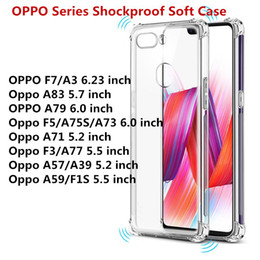 For OPPO F9 A5 A3S F7 F5 F3 A3 A1 A83 A73 A75S A77 A71 A39 A57 A59 F1S  Transparent Anti-knock Clear Shockproof Soft TPU Case 956175ad8a71