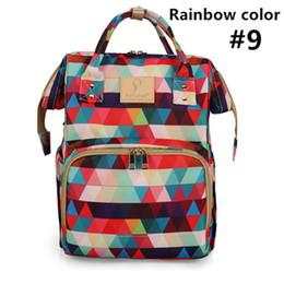 Function Hooks Australia - NEW Multi-function backpack, stylish casual waterproof diaper bag, USB socket, hook, separate insulation bag. Outdoor essential.