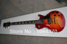 online shopping Guitars Newest Cherry Burst Custom Electric Guitar Gold Hardware HOT