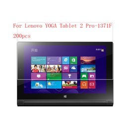 Screen Lenovo Tablet Lcd NZ - Anti-glare Tablet LCD film Screen Protector for Lenovo YOGA Tablet 2 Pro-1371F Anti-scratch without retail packing 200pcs lot