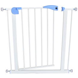 kids safety gates Canada - baby safety door baby gate kids child fence gate fencing for children pet fence stairs for door width 74-87cm