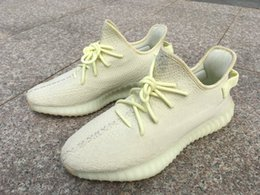 835f10f53 Top Quality Boost 350 V2 Butter Ice Yellow F36980 Frozen Yellow Yebra Zebra  Kanye West Men Women Running Shoes Sports Shoes