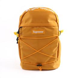 db7c2a41f chanel gucci supreme nike louis vuitton adidas bag Nuevo diseñador de  mochila con letra impresa bolsa de hombro doble de lujo al aire libre  mochilas ...
