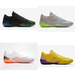 half off f6a19 4ec55 Cheap 2018 New Mens Kobe AD NXT 360 basketball shoes 4 Colors Zoom Air KB  12 xii elite ow sneakers Trainers boots with original box for sale